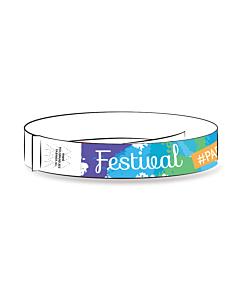 Tyvek Polsbandjes thema, Festival