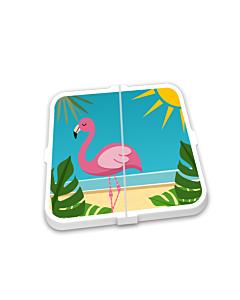 Breekmunten Flamingo beach
