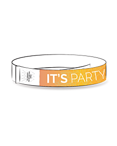 Tyvek Polsbandjes thema, it's party time